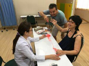 PLS-Patient erhält dritte Stammzellbehandlung